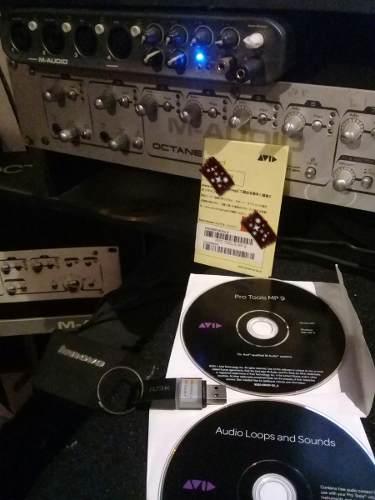 Interfaz De Audio Y Protools Original Mp9 +ilock Y Licencia