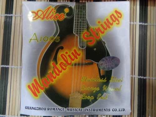 Juego De 8 Cuerdas Para Mandolina Alice