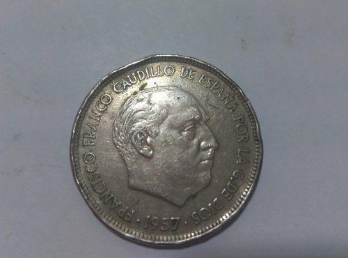 Moneda De Francisco Franco Caudillo De España,