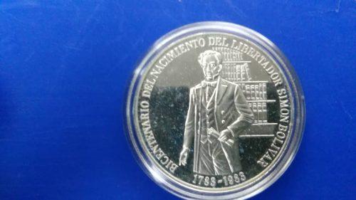 Moneda De Plata Conmemorativa Del Bicentenario