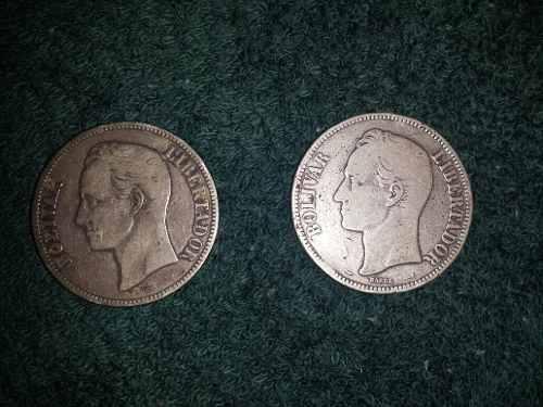 Moneda Fuerte De Plata Ley 900