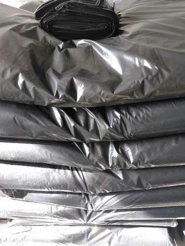 Bolsas Plasticas Negras 40kg Calibre 14. Paquete De 50 Unid