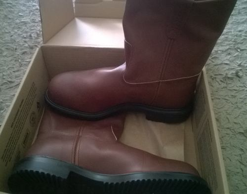 Botas De Seguridad Red Wing Talla ) Originales $50