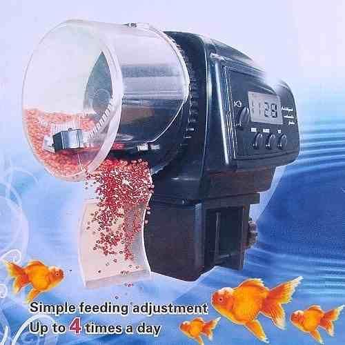 Dispensador De Alimento Digital Automático Para Acuarios