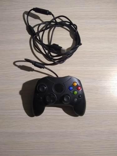 Mando Clasico De La Xbox Classic Color Negro