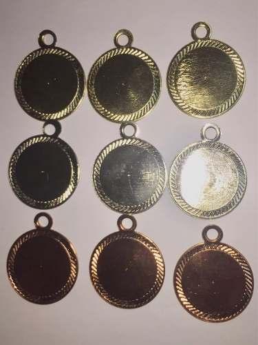 Medallas Redondas Diamantadas 39mm