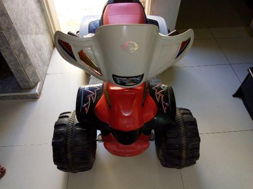Moto De 4 Ruedas Marca Cyclone Para Niños