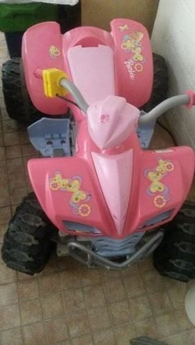 Moto De La Barbie De Bateria