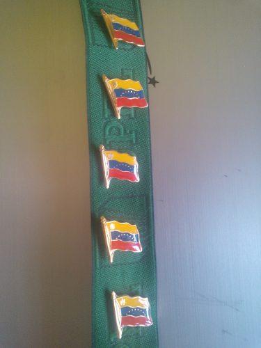 Pines De Bandera De Venezuela (importados)