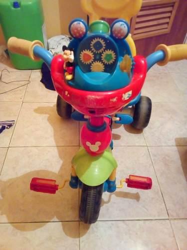 Triciclo Infantil Disney Con Luces Y Sonido