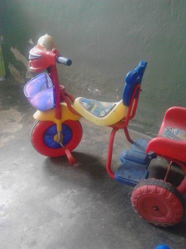 Triciclo Para Niño En Excelentes Condiciones Detalle De Uso