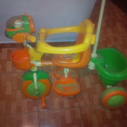 Triciclo Para Niños De 1 A 2 Años Con Empujador Negociable