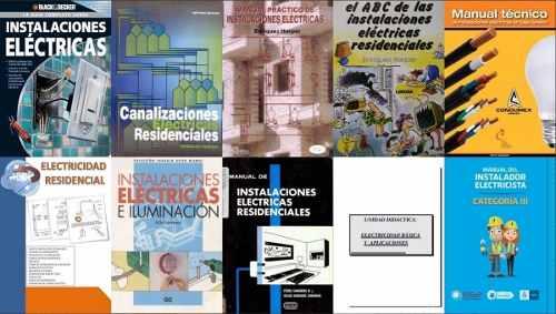 10 Libros De Instalaciones Eléctricas Pdf Digital