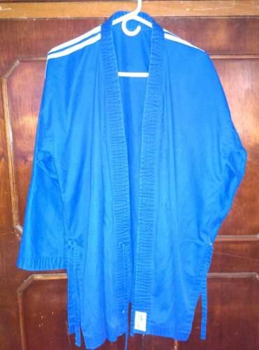 Karate Karategui Uniforme Azul Talla 4 adidas