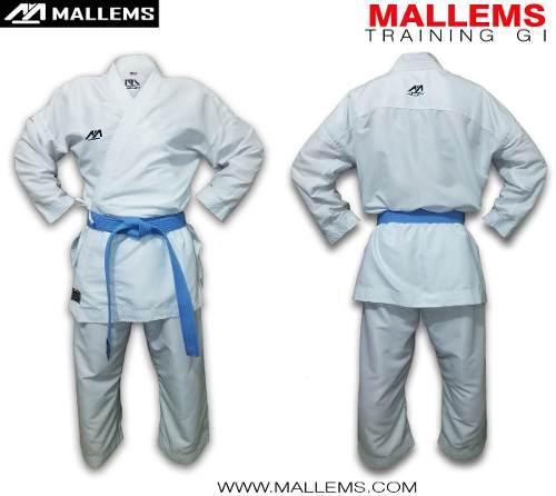 Karategi Kimono De Entrenamiento Liviano Mallems -mt