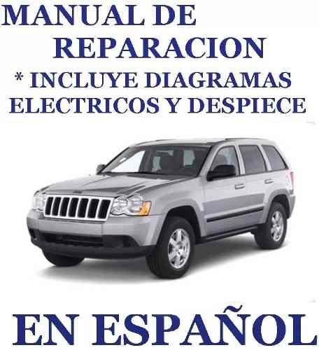 Manual De Reparacion Jeep Grand Cherokee  Español