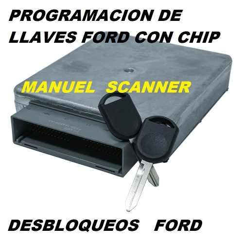 Programación De Llaves Con Chip Especialista En Ford Y Mas