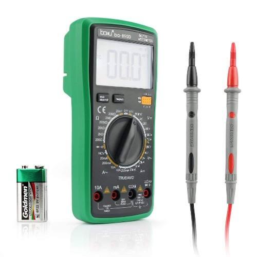 Tester Multimetro Digital De Rango Automático Baku Ba-890d