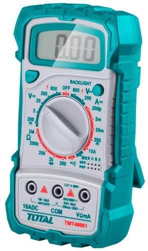 Tester Multimetro Digital Total Tools Vzla