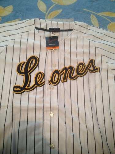 Camisa Leones Del Caracas Original, Talla L