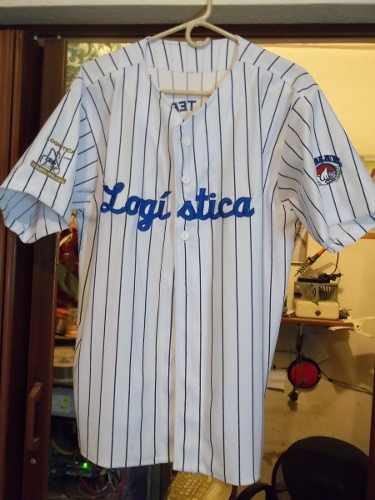 Franela Camiseta Béisbol Empresas Polar Talla Grande L