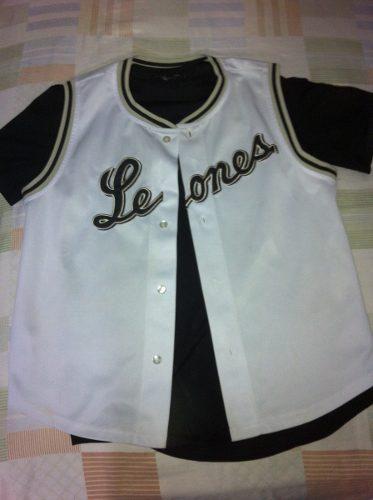 Franela De Leones Del Caracas Original