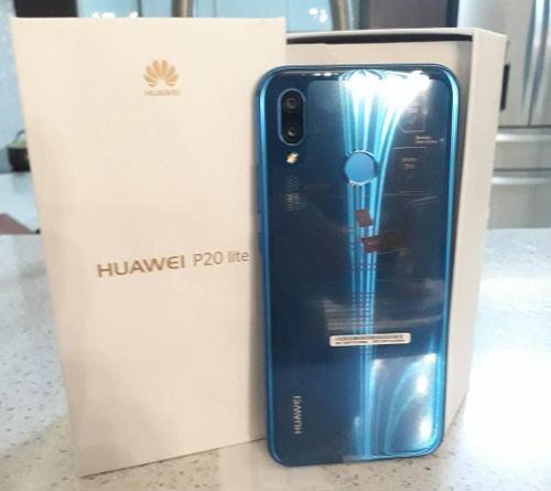 Huawei P20 Lite Nuevos Azul Y Rosado