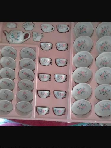 Juego De Te De Ceramica Para Niñas