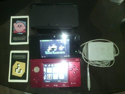 Nintendo 3ds 2 Juegos Y Cargadores