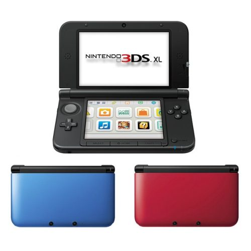 Nintendo 3ds Xl Azul/rojo