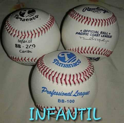 Pelotas De Béisbol Y Softball