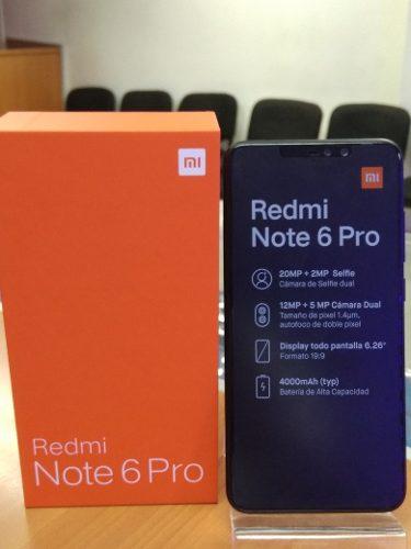 Xiaomi Redmi Note 6 Pro De 64 Gb