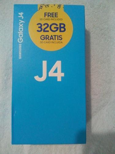Combo Samsung J4 16 Gb + Forro+ Vidrio Templado + Memoria 32