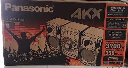 Equipo De Sonido Panasonic Sc-akx18 Nuevo