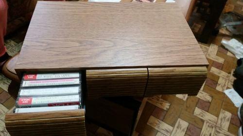 Gavetero Para 36 Cassettes De Audio