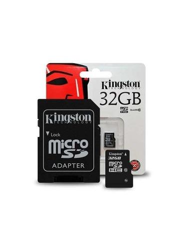 Memoria Micro Sd Kingston 32 Gb Clase 10 Flash Card Omca