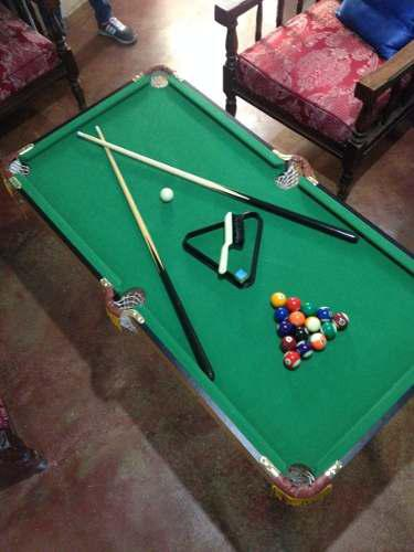 Mesa De Pool Profesional Para Niños