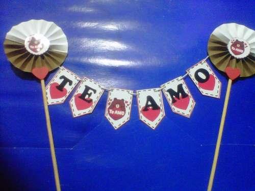 Mini Banderines Para El Dia De Los Enamorados