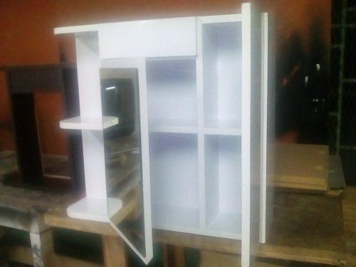 Mueble De Baño Blanco Brillante