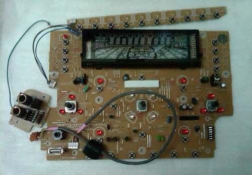Tarjeta Frontal Equipo De Sonido Lg Modelo Mds712