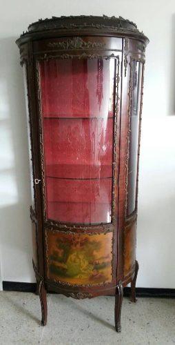 Vitrina De Estilo Luis Xv Vintage (antiguedad) Oferta