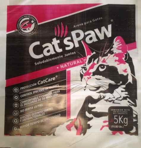 Arena Para Gatos Cat´s Paw 5 Kg.(tengo Cualquier Cantidad)