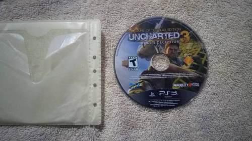 Juego De Ps3 Uncharted 3