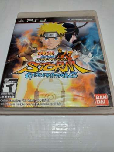 Juego Naruto Storm Generations Para Ps3 En Perfecto Estado