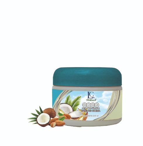 Linea Natural Coco Baño Hidratante Para El Cabello 250 Ml