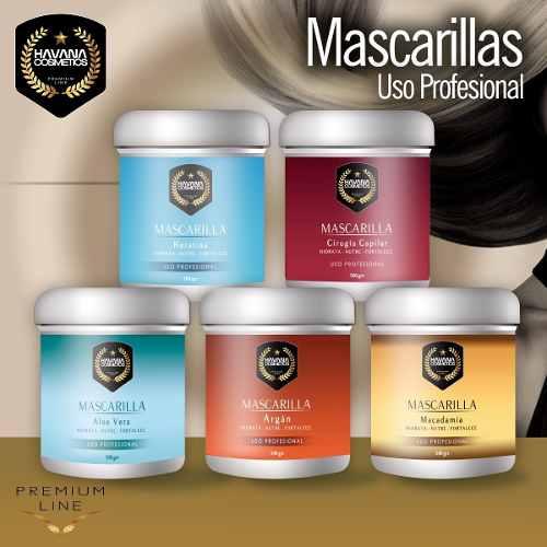 Mascarillas Capilares Havana Cosmetics 500 Grs.
