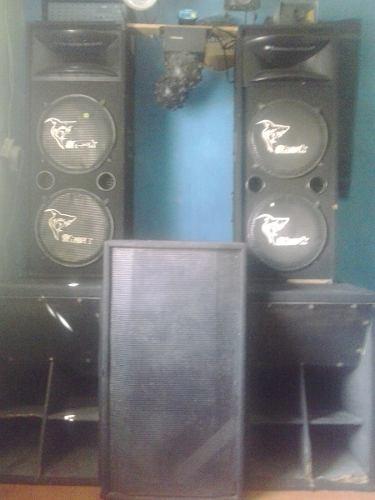 Miniteca Y Sonido Completa En Venta O Cambio Por Vehículo