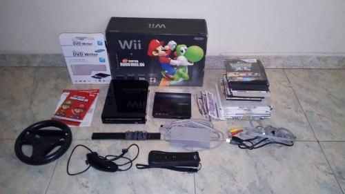 Nintendo Wii Edicion Mario Kart Consola De Color Negro