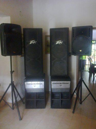 Vendo Excelente Equipo De Sonido Profesional