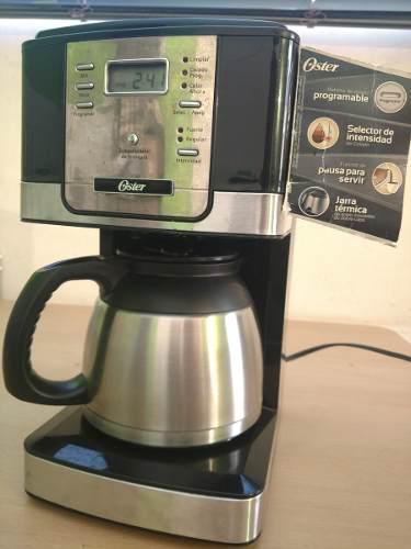 Cafetera Electrica Oster De 8 Tazas Con Jarra Térmica